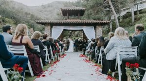 Ceremony at the Pala Mesa Bell Tower