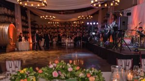 Reception With Band Stage