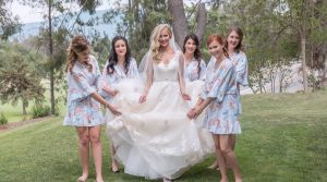 Bride With Bridemaids