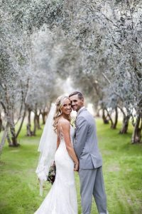 The Couple In The Olive Grove