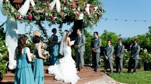 Vows at Lorimar Winery Wedding